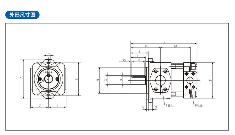 Sumitomo QT type QT33-10 high pressure internal gear pump